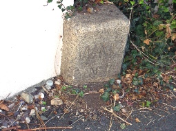 Image: War Dept Boundary Stone No. 1